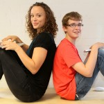 Tutor Bella with student Rory