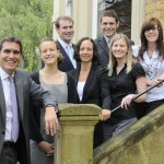 Saffery Champness partner David Lemon welcomes the new staff