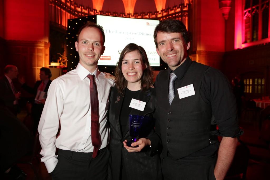 Pioneering robotics business wins Bristol Uni enterprise contest