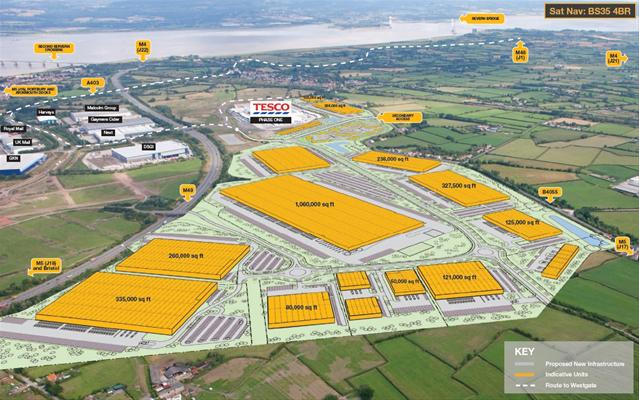 Jobs boost as major Severnside warehouse scheme gains approval