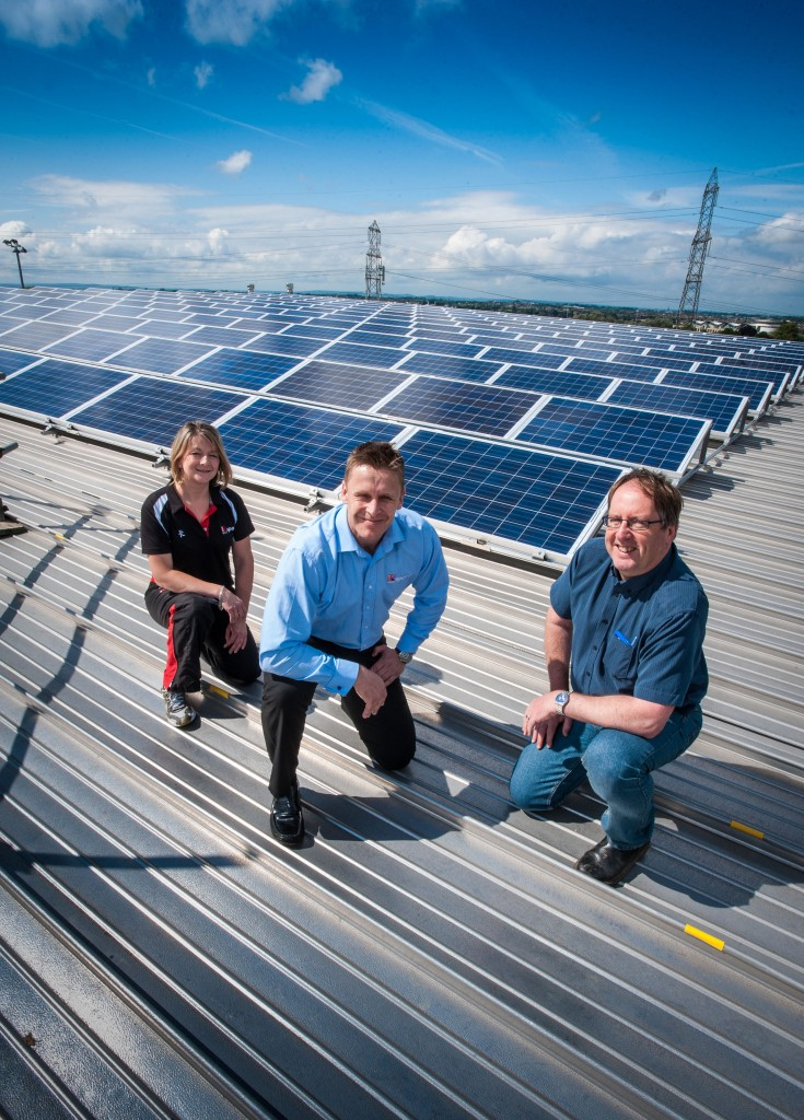 Solar panels help UWE target a Top 10 place for 'green' universities