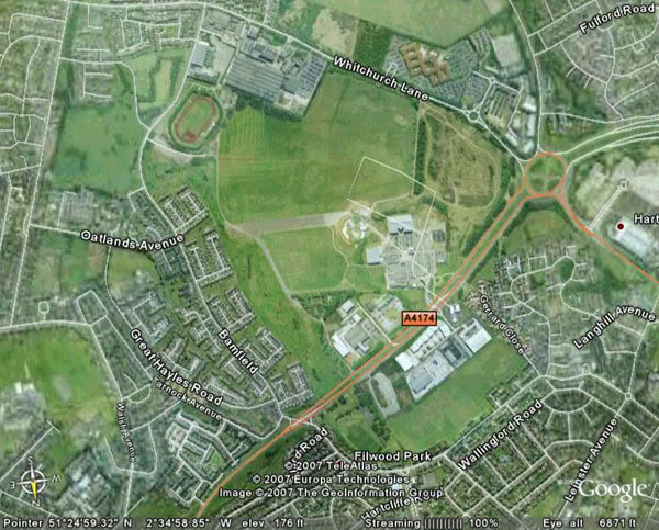 Green business park planned for derelict site of Bristol's original airport
