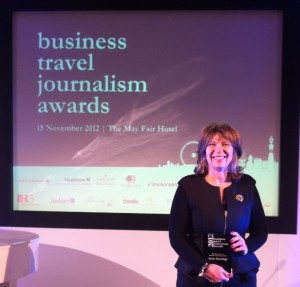 Top industry award for Bristol Business News travel writer Anne