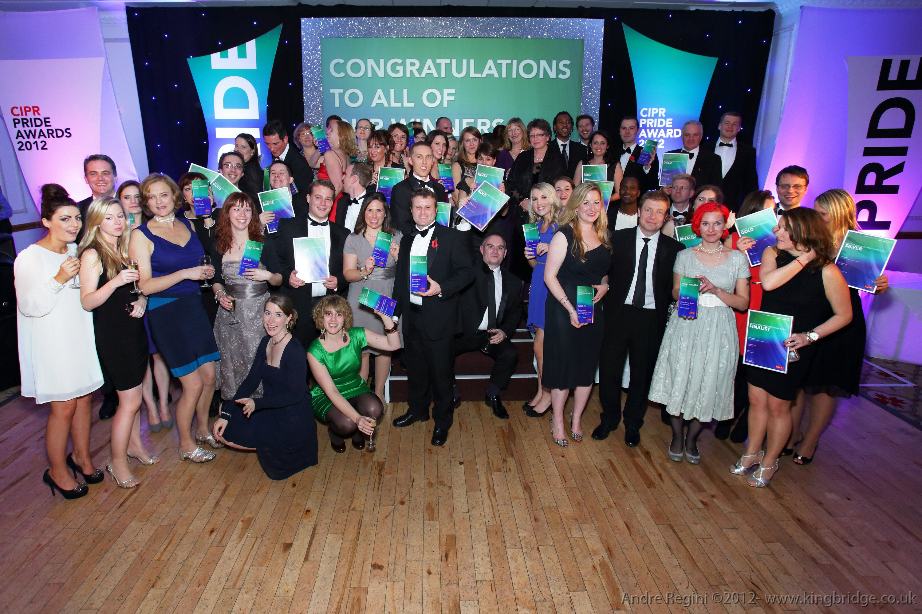 West's top PR talent is showcased at glittering CIPR PRide Awards