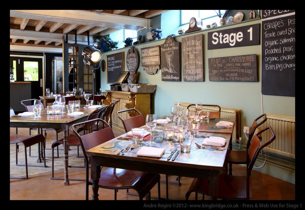 Lights, camera, action! Mulberry founder's film set restaurant pops up
