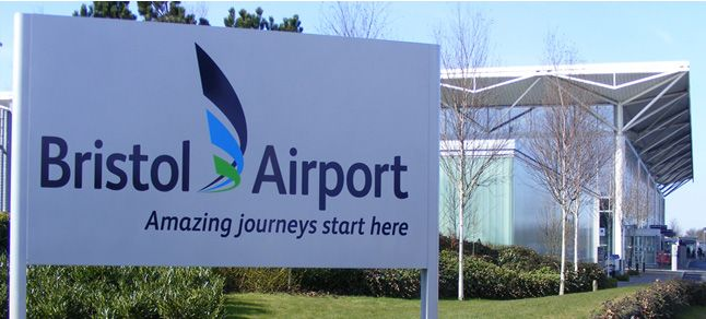 Bristol Airport business lounge extension work takes off