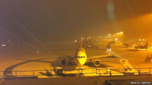 Snow Chaos: Airport re-opens but disruption continues across region