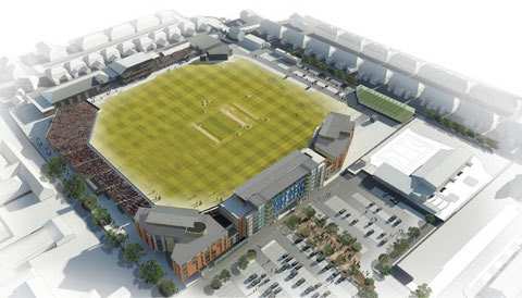 Glos Cricket Club awards County Ground upgrade work to Galliford Try