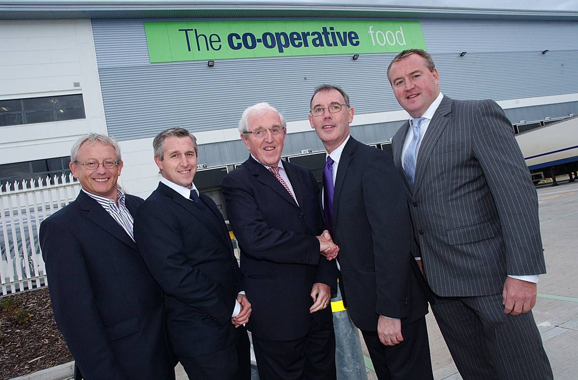 Co-op opens state-of-the-art mega-warehouse at Avonmouth