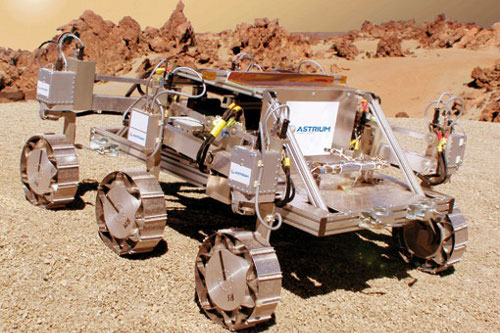 Mars rover to land at Bristol space conference this weekend