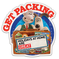 Wallace & Gromit come home as they promote grand days out for UK tourism