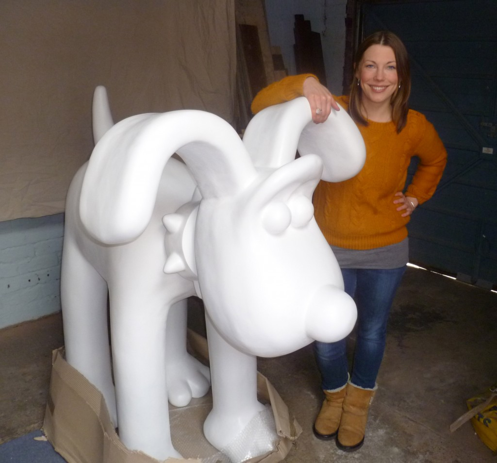Law firm TLT unleash Bristol children's illustrator on its Gromit statue