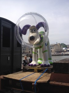Bristol gets a buzz as Gromit Unleashed project steams into life