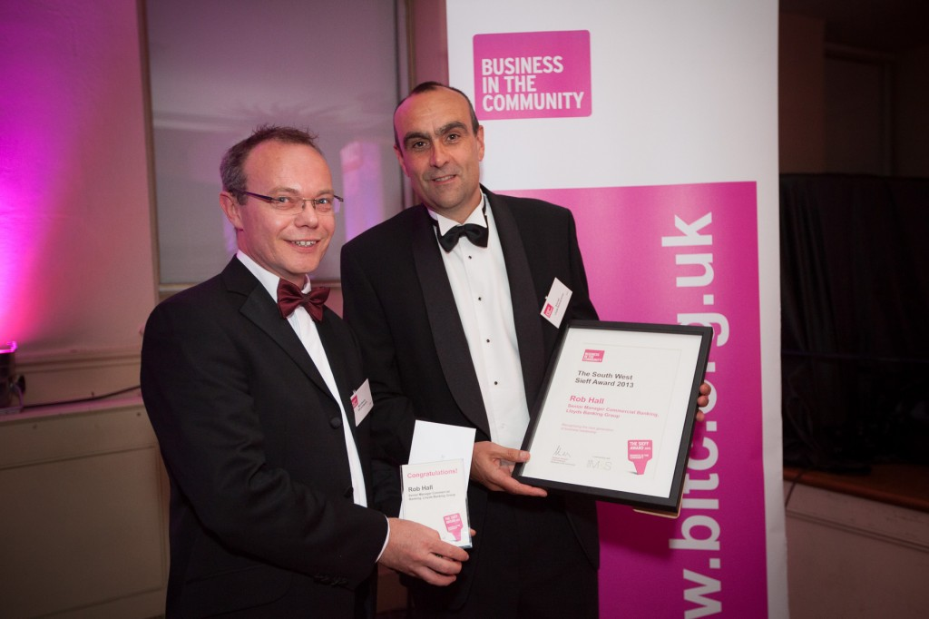 Recognition for Lloyds Bank manager in Responsible Business Awards
