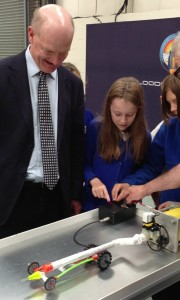 £1m boost for Bloodhound as minister opens new technical centre