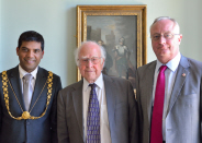 Freedom of the city for eminent physicist Prof Peter Higgs