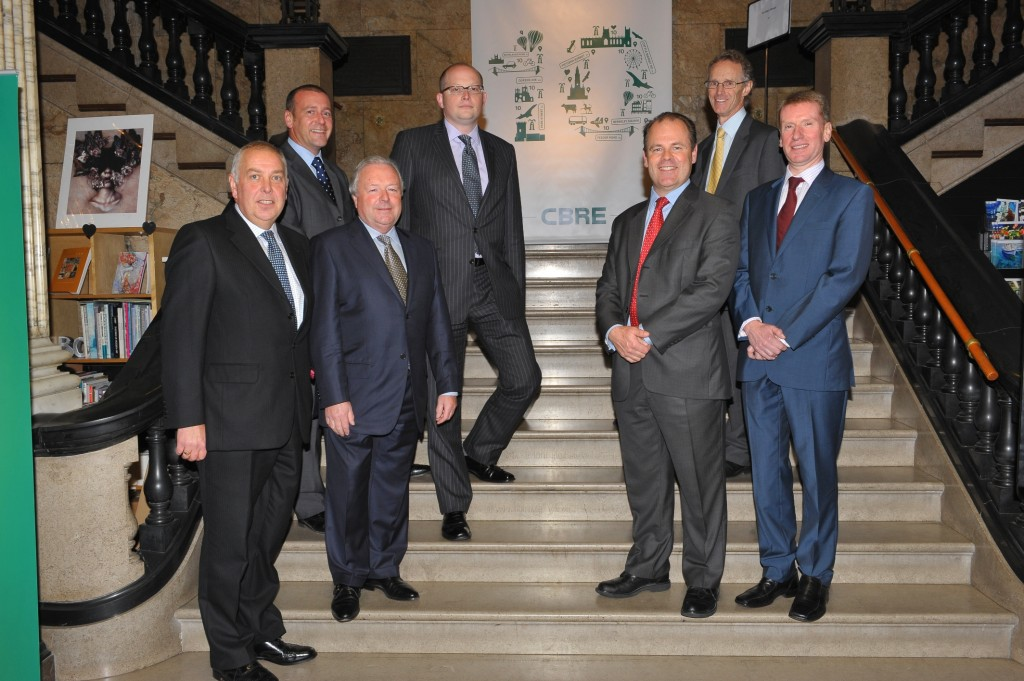 CBRE's decade of growth marked with VIP party