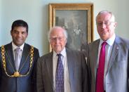 Professor Peter Higgs wins Nobel Prize for Physics