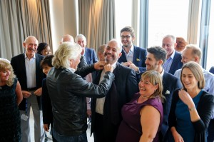 Business West boss collared by Branson for being tied-up in meeting