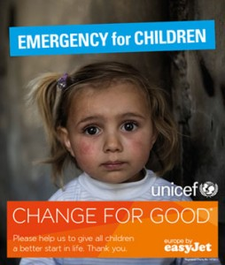 Donate spare cash to change the plight of Syria's children, Bristol Airport passengers are urged