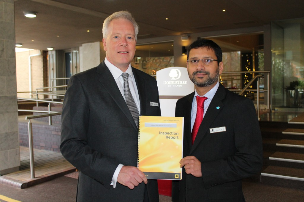 AA hotel rating upgrade for Bristol's DoubleTree by Hilton