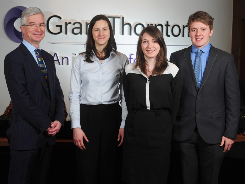 Three new graduates join Grant Thornton's Bristol office