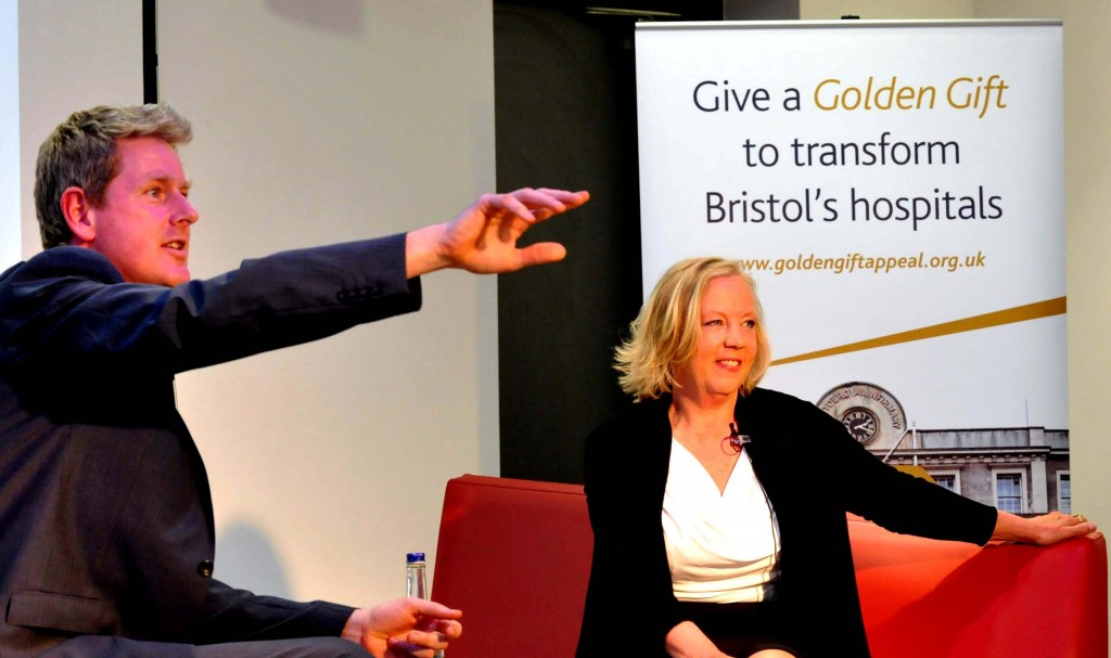 Dragon Deborah, in firing line for Bristol charity, talks about business, failure  . . . and riding