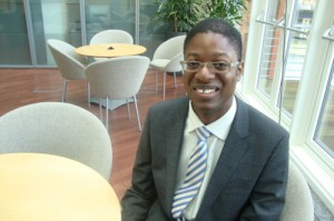 'Dare to dream' urges first black president of Bristol Junior Chamber of Commerce