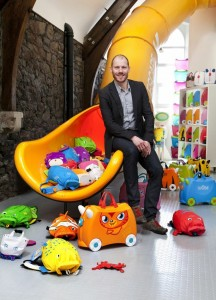 Trunki inventor and 'dragon-slayer' Rob Law to make case for innovation at business show