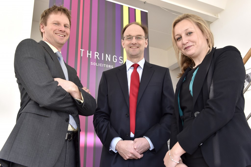 Trio of new commercial property lawyers boosts team at Thrings