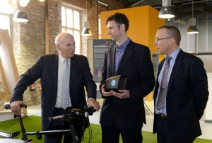 'Conservative' bank lending still holding back small firms, Cable says on visit to Bristol