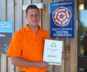 Positive visitor feedback earns adventure park top TripAdvisor accolade