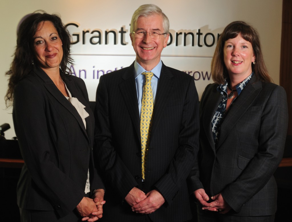 Senior promotions at the double at Grant Thornton's regional public sector assurance team
