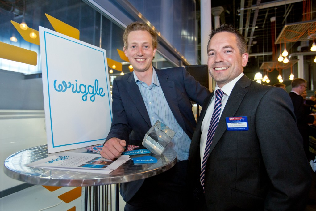 Eating-out app Wriggle tastes success as innovation hub's one-minute wonder