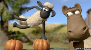 He's the best baa none. Aardman's Shaun the Sheep tops poll to find all-time favourite kids' TV character