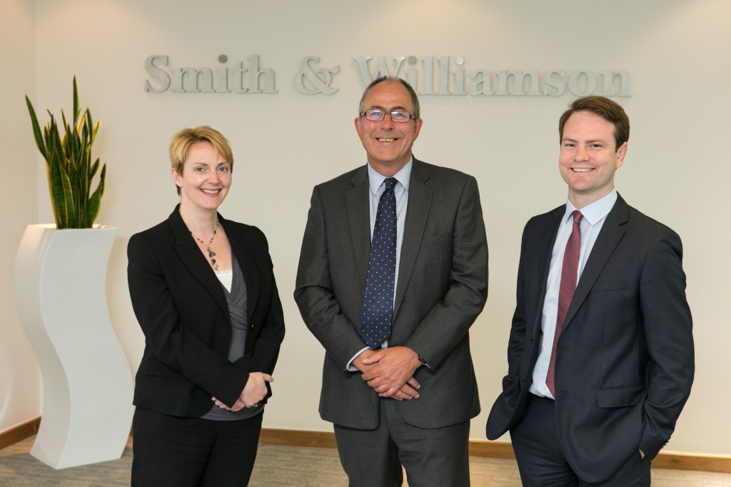 Hat-trick of senior promotions at Smith & Williamson's Bristol office
