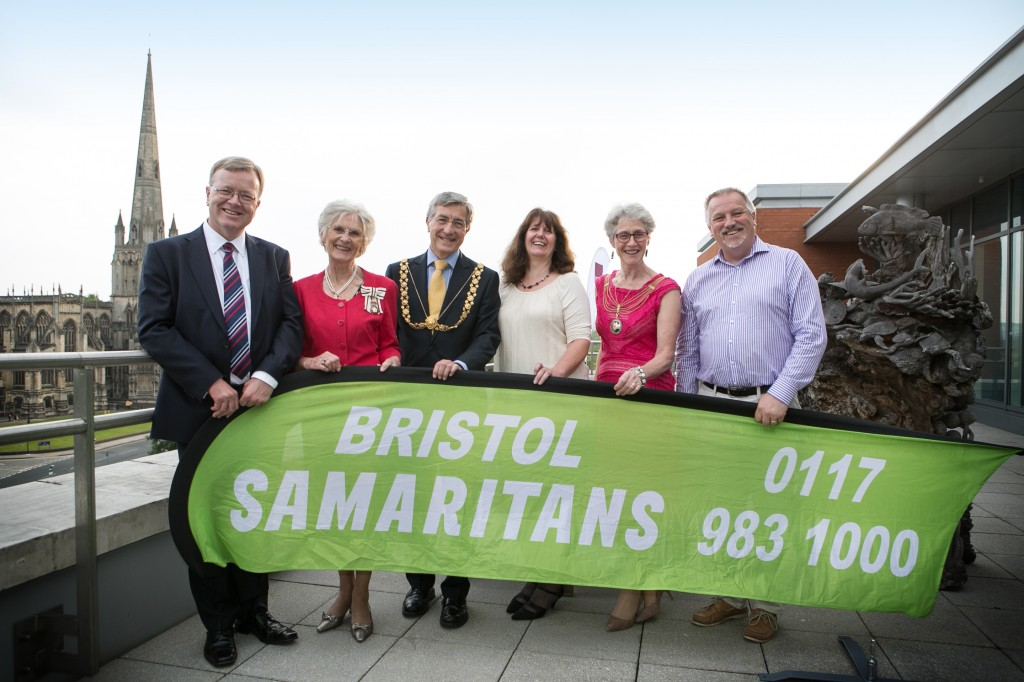 Gathering celebrates Bristol Samaritans' 50 years of tireless service to the city