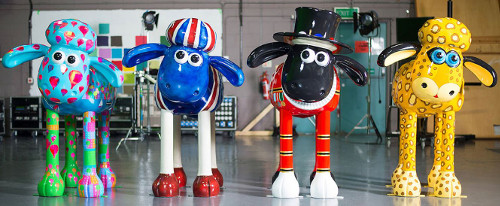 More Than 100 Sculptures Of Bristol Animator Aardmans Woolly Claymation Character Will Appear In London And Next Spring Summer
