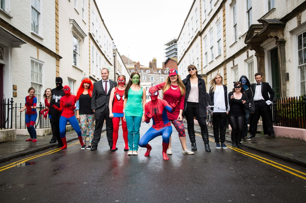 Starring role for Bristol retail specialist in Amazing Spider-Man 2 launch