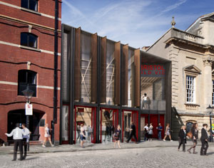 Coveted RIBA Stirling Prize for Bristol Old Vic remodelling architect