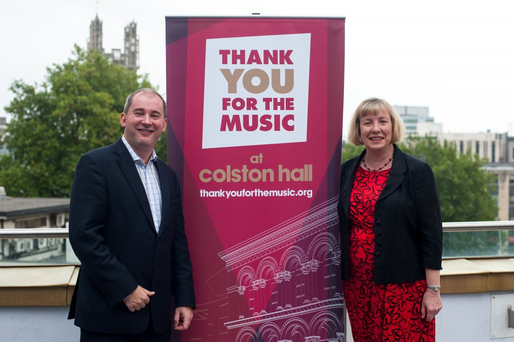 JBP to manage Colston Hall's £45m Thank You for the Music transformation appeal
