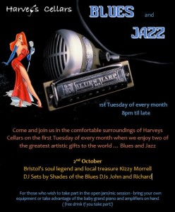 Harveys Cellars relaunches its Blues and Jazz jam nights