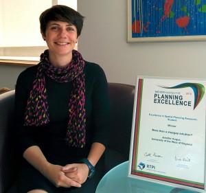 GVA graduate planner wins prestigious national award
