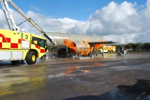 State-of-the-art fire-fighting training complex opened at Bristol Airport
