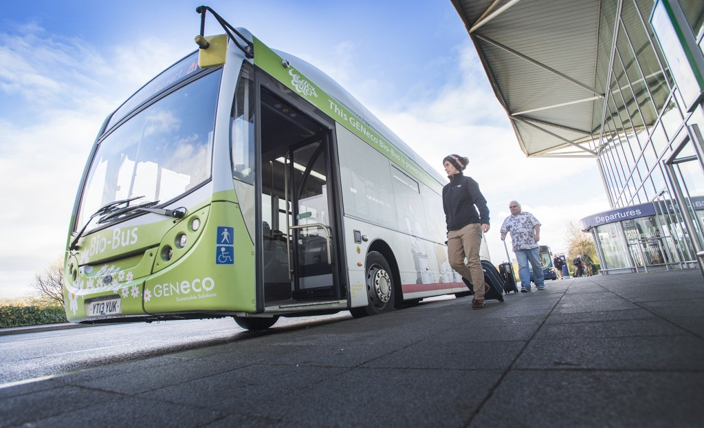 Pioneering Bristol eco-firm's poo-powered bus takes to the streets