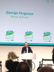 Our year as European Green Capital will change people's lives, Mayor vows as city takes over title
