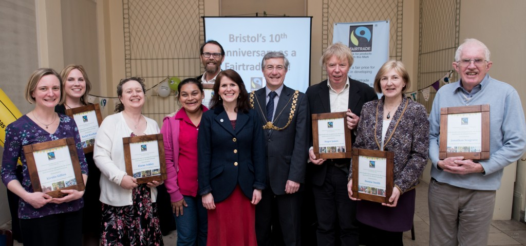 Bristol takes its place as one of the world's leading Fairtrade cities