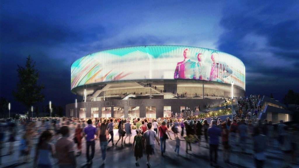 Bath experts behind all-round winning design for Bristol's arena