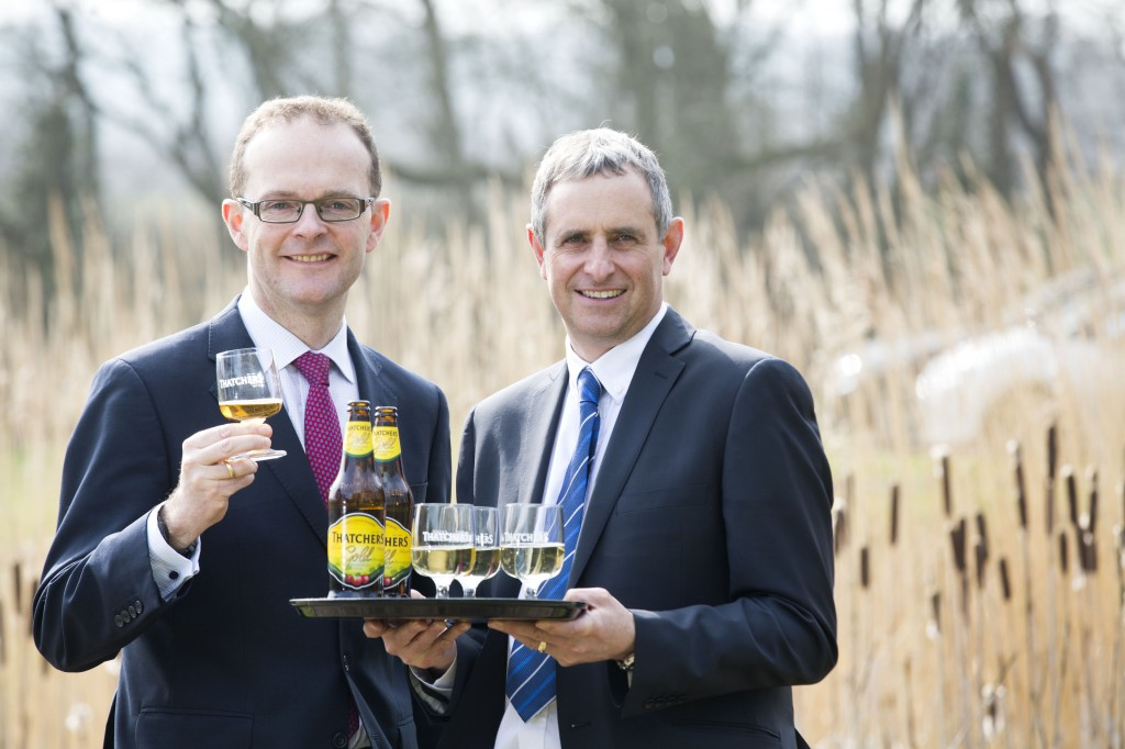 Thatchers hosts UKTI boss to showcase how it takes cider from the West to the world