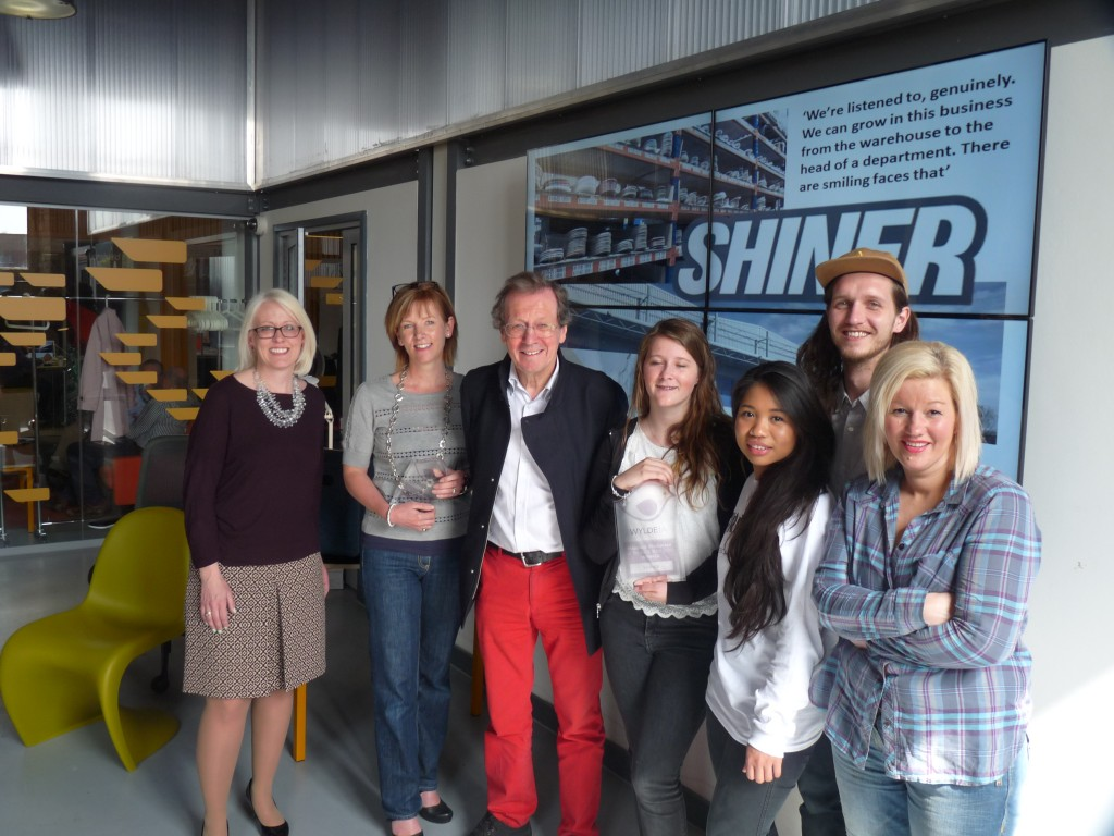 Shiner skates off with title of Bristol's happiest workplace in inaugural competition
